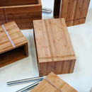 Bamboo storage - unstacked