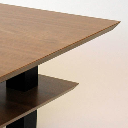 cherry and beech coffee table
